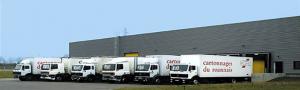 services : flotte de camions