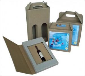 coffret vin : emballages complexes